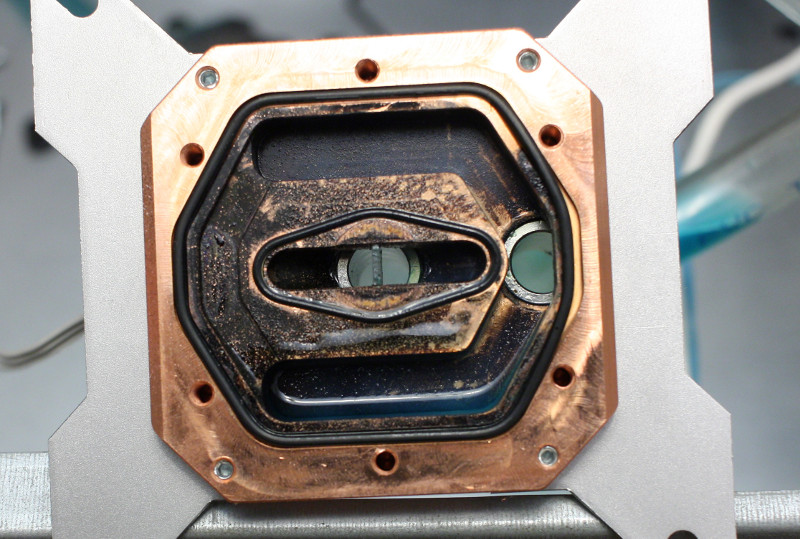 Heatkiller 3 waterblock after 4 years of usage