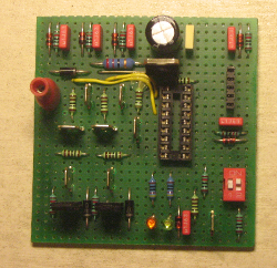 Circuit board of custom ignition starter