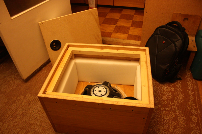 Building the subwoofer